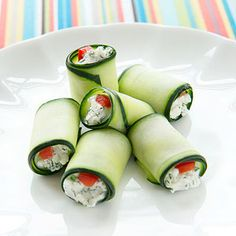 For a no-bake appetizer that comes together in a snap, try these vegetarian rolls that are reminiscent of sushi.