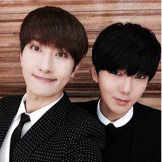Zhoumi and Yesung!