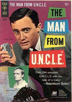 "Cry UNCLE: THRUSH uses agent Solo against the organization! Robert Vaughn last acted in the BBC's ""Hustle""; David McCallum (Kuryakin) is ""Ducky"" Mallard in ""NCIS."""