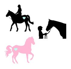 Equestrian Horse Vinyl Decal by JustSwankyEnough on Etsy
