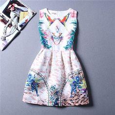da750a0c4cb5 Cartoon Castle Summer dress Party Clothes