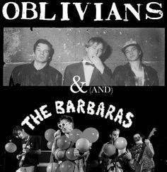 Oblivians with the Barbaras, Memphis, Tenn.
