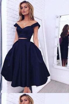 Outlet Comfortable Two Pieces Homecoming Dress 58e6693016d3