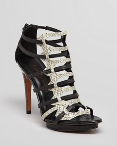 Luxury Rebel Platform Sandals - West Strappy High Heel