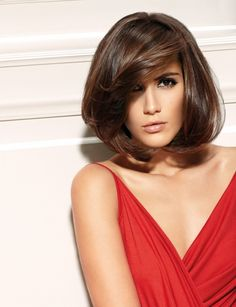 76 Stylish Hairstyles With Bangs - Soflyme Hairstyles With Bangs, Easy Hairstyles, Stylish Hairstyles, Medium Hair Styles, Short Hair Styles, Hair Color And Cut, Long Hair Cuts, Bad Hair Day, Brunette Hair