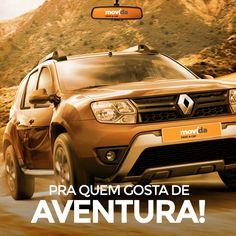 Com o Renault Duster, você está pronto para passear pela cidade ou pegar a estrada de terra. #VáDeMovida Alugue agora: movida.com.br