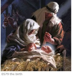 The true meaning of Christmas...Christ is born!
