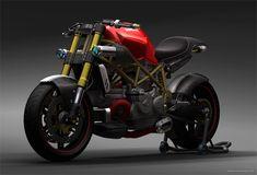 Aunque Heikki Naulapää diseño su prototipo de Ducati en 2003, el concepto de moto que presenta este diseñador industrial...
