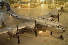 Enola Gay B-29 Bomber that dropped the Atom Bomb in WWII.