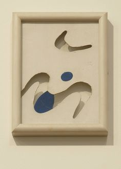 Moustaches, c.1925, Jean Arp; for Arp, the moustache symbolised pomposity. (Tate Modern)