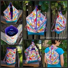 Andrea's Rucksack- in 2 Backpack Sizes | Craftsy
