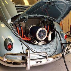VW Porsche Air Cooled Billet Aluminum Transmission Dual Motor Adapter, EV West - Electric Vehicle Parts, Components, EVSE Charging Stations, Electric Car Conversion Kits Electric Car Engine, Diy Electric Car, Electric Motor, Electric Vehicle, Jetta Vw, Electric Car Conversion, Porsche, E Motor, Vw Classic
