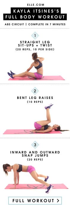 How to Get Instagram-Worthy Abs In 3 Moves - ELLE.com