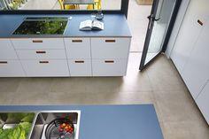 Privathaus Bonn, Agrob Buchtal Fliese Valley, kieselgrau, 60x60, Küche von Reform