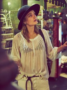 Free People FP ONE Morning Light Top, $88.00