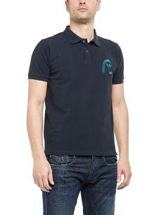 T-shirts    Sportives Polo Shirt aus dem Hause Replay. Das Shirt ist angenehm zu tragen und lässt sich perfekt mit einer Jeans kombinieren.    Außenmaterial: 100% Baumwolle...