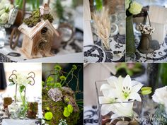 Natural, garden inspired wedding decor by 2000 AD Inc