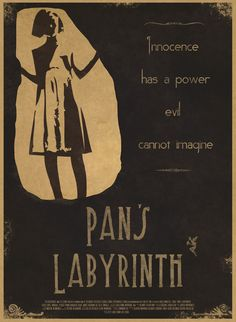 Pans Labyrinth (by Tom Ducat-White) Cinema Quotes, Film Quotes, Labyrinth Quotes, Labyrinth Movie, Movies Worth Watching, Movie Lines, Great Films, Paint Designs, Illustrations Posters