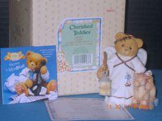 "Cherished Teddies, ""Angel-Celeste"" Enesco, Ltd Ed, Retired  1995 w/Box # 141267 #CherishedTeddies"