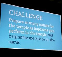Elder Neil L Anderson has extended his temple challenge by 8 words, but what a change! #templechallenge #sharethechallenge