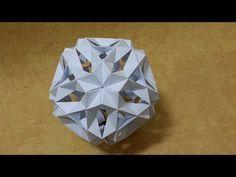 154 Origami 종이접기 (다면체) 색종이접기 摺紙 折纸 оригами 折り紙 اوريغامي - YouTube