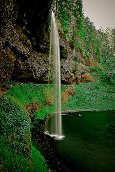 Silver Falls Oregon, US