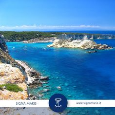 #Puglia #isoletremiti: da @Marina_Gargano nel mare più blu con http://www.signamaris.it