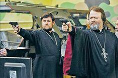 #Russia's orthodox priests receive new tools for their battle against the demons of the West