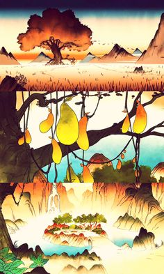 What if the tree in the first image is the giant swamp tree?!