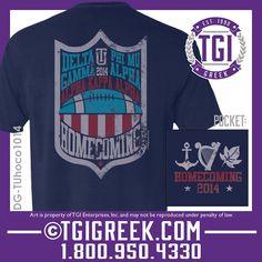 TGI Greek - Delta Gamma - Homecoming - Comfort Colors - Greek T-shirts #tgigreeek #deltagamma