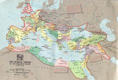 roman empire map of 70 ad | Roman Empire at greatest extent circa 117 AD