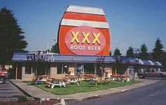 Triple X root beer/drive in