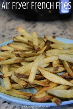 If you have an air fryer, you know just how well it works to make some of your favorite snacks. It also works really well to make your life easier. Especially when you're cooking dinner. French fries take less time when you make them in the air fryer rather than in the oven. Plus, you use less olive oil, so you feel a little bit better about eating them. And they come out just as crispy as oven fries.