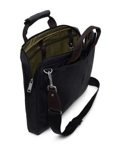 Jack Spade | Nylon Canvas Military Brief $225