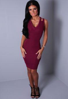 http://www.pinkboutique.co.uk/valence-plum-bandage-back-crossover-mini-dress.html