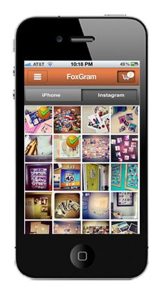 Print your Instagram photos. Easy photo upload from iPhone and iPad album. https://itunes.apple.com/us/app/foxgram/id617926985?mt=8