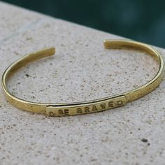 Celebrate and protect creativity. What an inspiring bracelet!