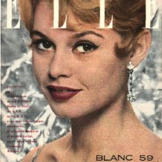 Bardot.  Elle Mag.