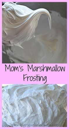 My mom has been making this frosting recipe as far back as I can remember. With … My mom has been making this frosting recipe as far back as I can remember. With the help of some photo's, I can track this recipe 40 plus y… Sweet Recipes, Cake Recipes, Dessert Recipes, Icing Recipes, Cupcake Creme, Food Cakes, Cupcake Cakes, Icing Frosting, Angel Food Cake Frosting