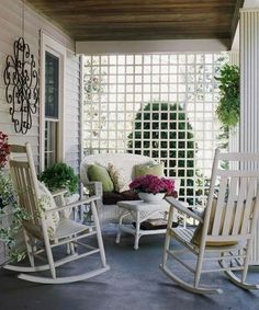 10 Appealing Porch Design Ideas - Rilane