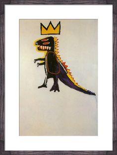 Pez Dispenser, 1984 Art Print by Jean-Michel Basquiat | King & McGaw