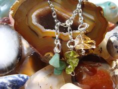 Synergy Abundance Necklace by ParanormalProtection on Etsy, $40.00