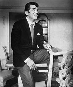 Dean Martin and his beautiful smile