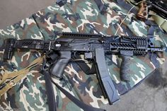 Russia army troops special-forces military russian firearms OSN-Saturn 9x19 submachine gun PP-19-01 Vityaz-SN 3