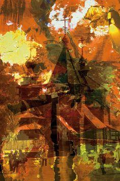 Espiritualidad Contemporánea: EL PLACER DE UNIRNOS CADA DÍA EN LA IMAGEN Y POESÍ...   Composición digital de José Vega Poema de Moni Indiveri de Vega