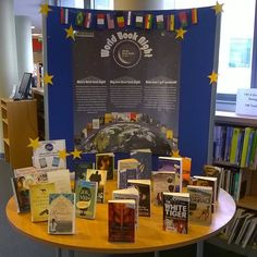 We will be celebrating World Book Night tomorrow and students are now able to enter our raffle for free, and possibly win one of two books!