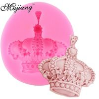 3D Imperial Crown Silicone Cake Molds Fondant Cake Decorating Tools Gumpaste Chocolate Fimo Clay Candy Moulds XL150