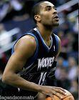 For Sale - Wayne Ellington Memphis Grizzlies Timberwolves Signed 11x14 LOM COA WE2