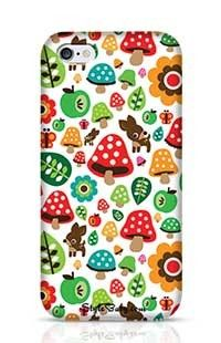 Musroom Autumn Deer And Apple Pattern Apple iPhone 6 Phone Case