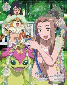Digimon Adventure tri Art from August Animedia